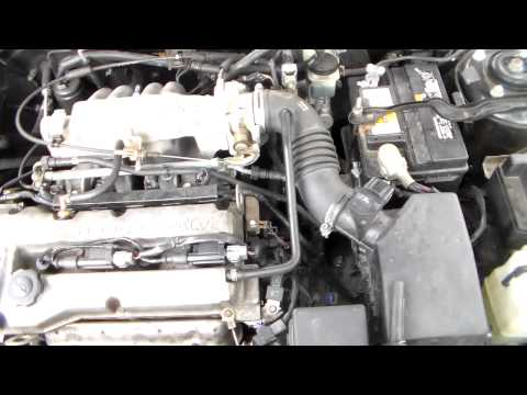 Mazda Protege 1 6L coil pack replacement - YouTube