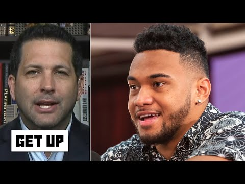 Tua Tagovailoa would be the top pick over Joe Burrow if he didn't get hurt - Adam Schefter | Get Up