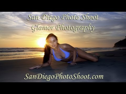San Diego Photo Shoot and Glamour Photography Beach Pictures