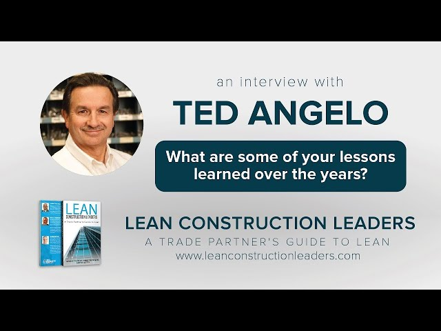 What are some of your lessons learned over the years?