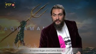 Aquaman: Interview Jason Momoa