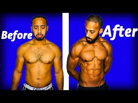 Intermittent fasting 9 month transformation (Before and after 2018)