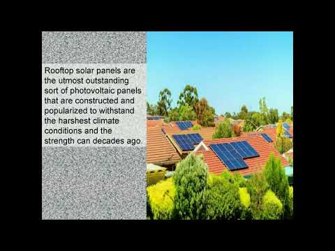 Some Key Benefits of Rooftop Solar Panel