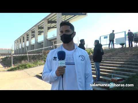 Entrevista postpartido Josué | Unionistas de Salamanca 3 - 1 Valladolid Promesas