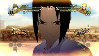 Naruto Ultimate Ninja Storm 3 School Uniform Sasuke vs School Uniform Naruto