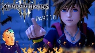 KINGDOM HEARTS 3 PROUD DIFFICULTY BLIND PLAYTHROUGH PART 19!!!