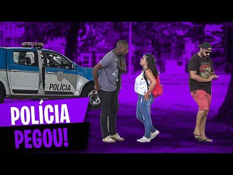 PEGADINHA - ROUBANDO NADA NA PRAIA DE COPACABANA EM FRENTE A POLÍCIA! #DESAFIO 161