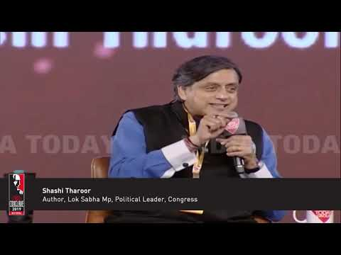 Shashi Tharoor Says Hindutva Ties Hinduism To Political Ideology   India Today Conclave 2019 Mp3