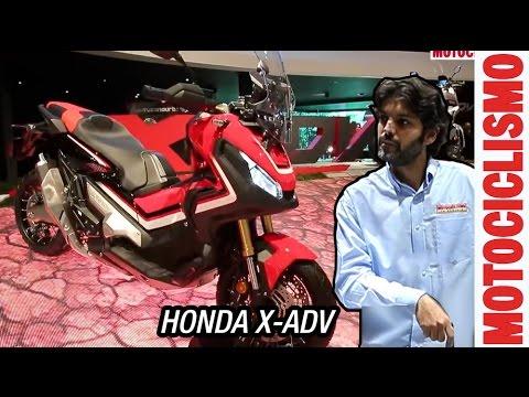 Honda X-ADV 2017 | Scooter Off-Road | Peso, potencia y cilindrada