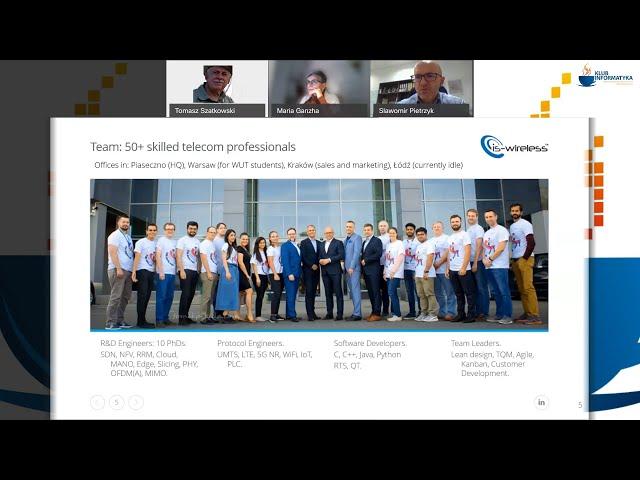 KI. Sieci programowalne (4G/5G) - prezentacja
