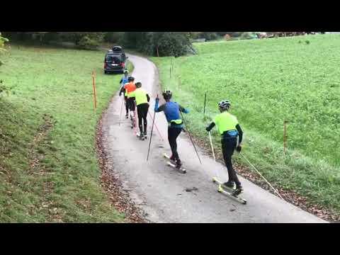 Entraînement skis-roues Bex (2019-11-09)