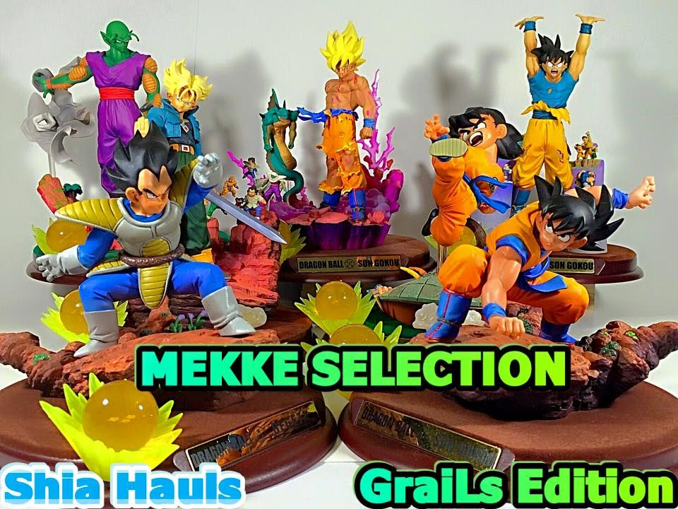 Dragon Ball z figures selection some complete