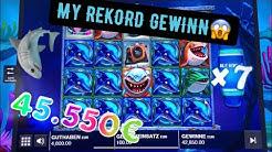 ALGE Razor Shark My REKORD Gewinn😱 Freispiele Drehen Durch🔥 Online Casino Slot 45.550€ KINGLucky68