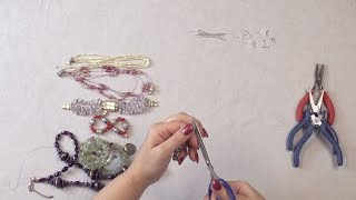 Episode 1- Recycled Jewelry Made Into Something New- Earrings