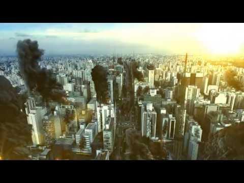 Caos em São  Paulo (Track Camera test) - VFX