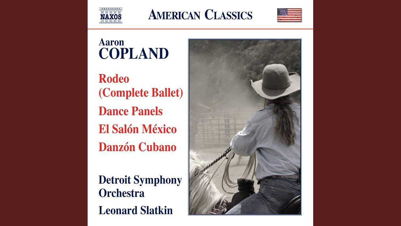 """Artwork representing The DSO Perfoms """"Hoe Down"""" from Aaron Copland's """"Rodeo"""""""