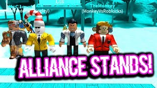 THE ALLIANCE STANDS!!! | Roblox YouTuber Survivor Season 2 Episode 2