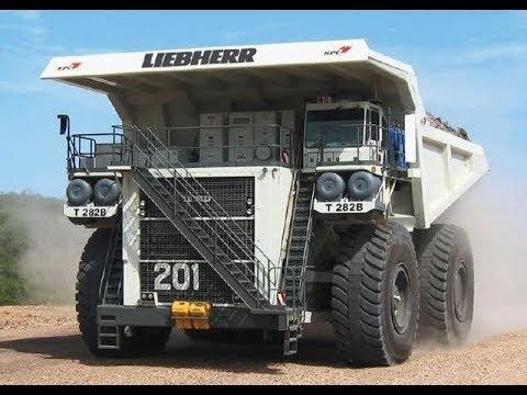 LIEBHERR MINING TRUCK T282B - PT.KALTIM PRIMA COAL