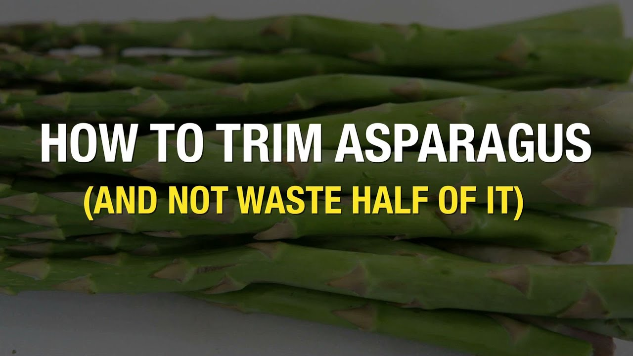 Why Snapping Asparagus Stalks Is Like Throwing Away Money  Oregonlive