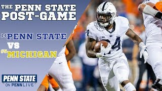 The Penn State-Michigan post-game show