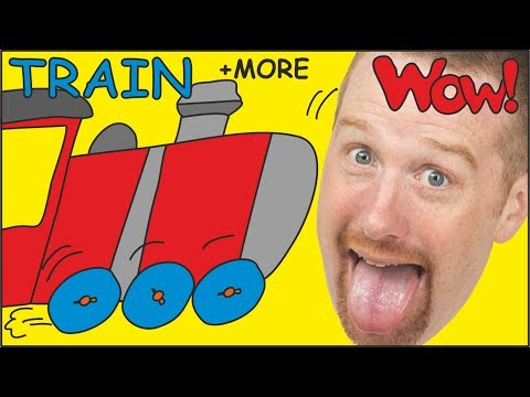 Thumbnail: Steve´s Bike, Car and Train | Stories from Steve and Maggie | Learn English by Wow English TV