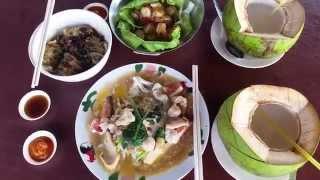 Must Eat Foods in Sandakan - Sim Sim Water Village 森森海上风味