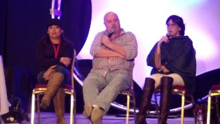 Ohayocon 2015!: Excel Saga With Jessica Calvello, Rob Mungle and Cynthia Martinez Q & A!!!