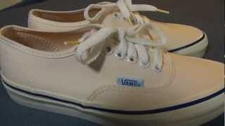 Shoe Review: Vans Authentic Vintage 1970