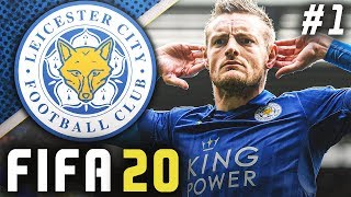 FIFA 20 Leicester City Career Mode EP1 - ROAD TO GLORY BEGINS!!