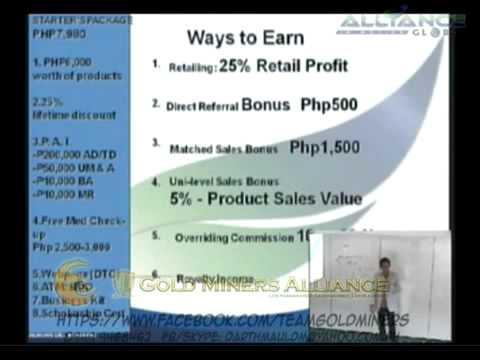 AIM GLOBAL Business Presentation By Mr  Adrian Del Rosario
