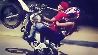 Cuándo andas en moto