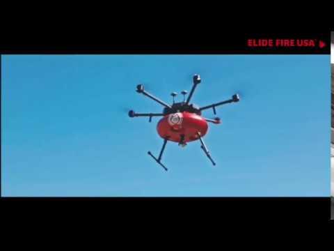 Elide Fire USA - Fire Fighting Drone