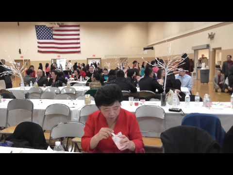 Hmong CRC:Valentine Banquet in Sheboygan, Wisconsin