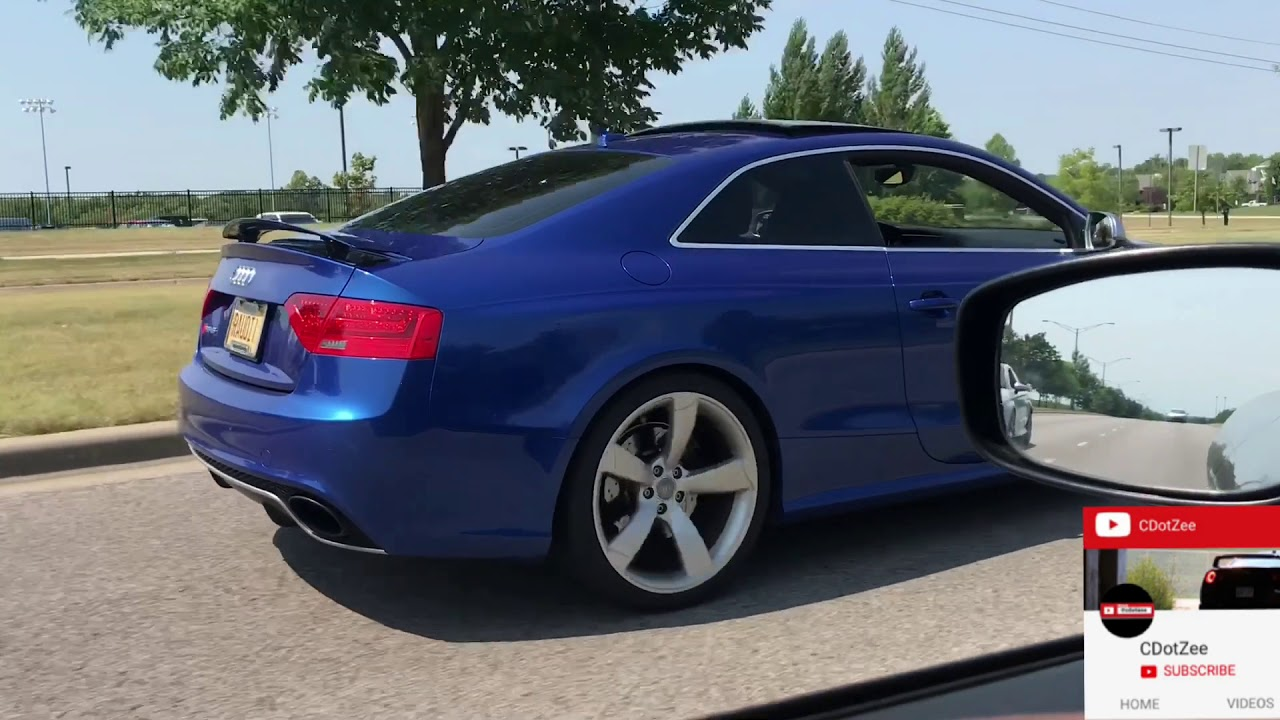 LOUD Modded Audi RS5 Exhaust X Pipe! 2018 Audi RS5 Exhaust Sounds This  GOOD??