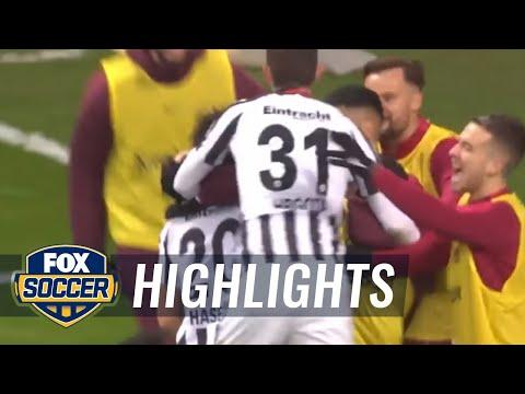 Eintracht Frankfurt vs. Darmstadt | 2016–17 Bundesliga Highlights