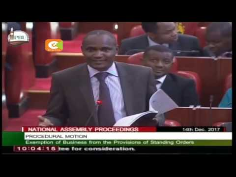 Speaker Muturi throws out MP John Mbadi