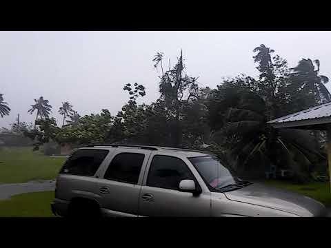 American Samoan... Cyclone Gita Feb 9th 2018