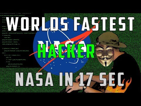 World's fastest hacker