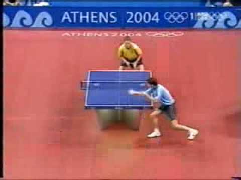 Waldner vs Boll 2004 Athens  great table tennis match