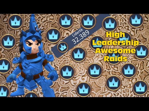 Royal Revolt 2 L How To Use High Leaderhip 30000+ Over