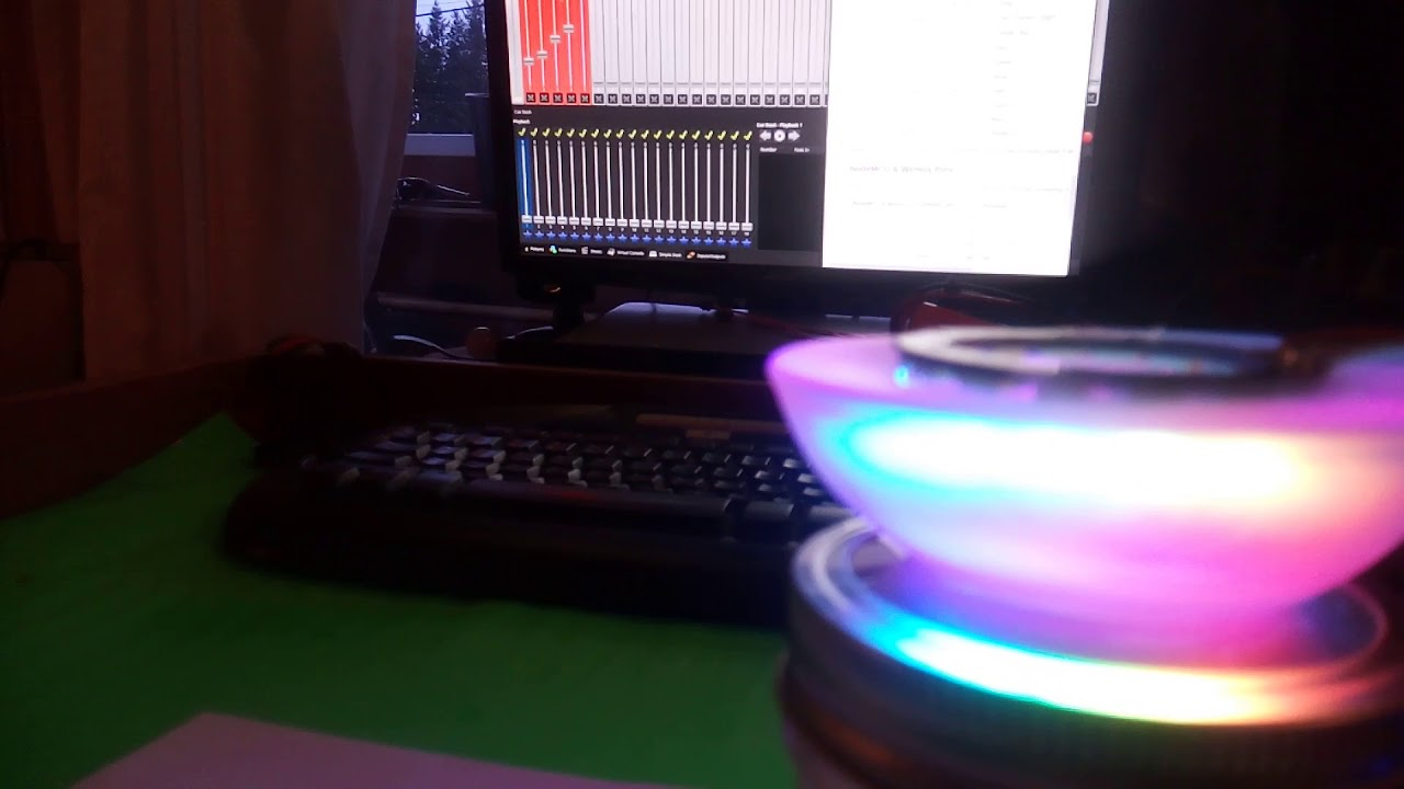 ESP-8266 + WS2812 (NeoPixels) + Artnet = Custom pretty WiFi Lights!