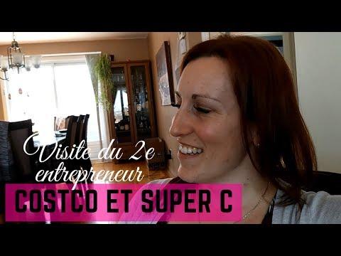 VLOG - ON RENCONTRE LE 2E ENTREPRENEUR // ÉPICERIE COSTCO ET SUPER C (22-03-2018)