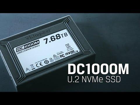 U.2 NVMe SSD for Data Centers – Kingston DC1000M