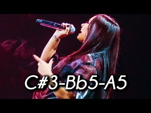 Demi Lovato - 'Tell Me You Love Me' Era FULL VOCAL RANGE! (C#3-Bb5)