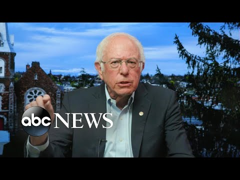 '(The) majority of the people who voted for me … will be voting for Joe Biden': Sanders   ABC News