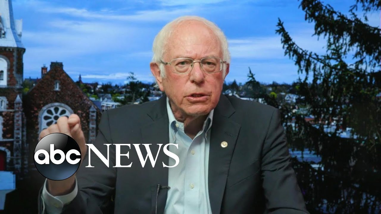 '(The) majority of the people who voted for me … will be voting for Joe Biden': Sanders |