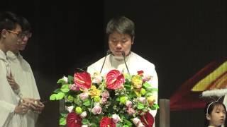 聖保祿學校四十六週年校慶暨黎鴻昇主教花園揭幕典禮