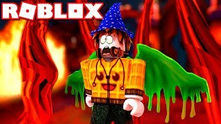 Siamo FINALLY a HELL?!?! -Roblox Indonesia Wizard Simulator #3