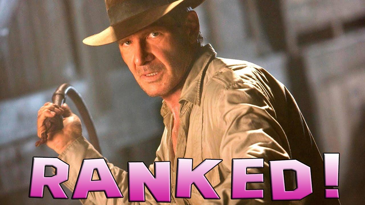 4 Indiana Jones Movies Ranked
