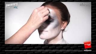 Mummy Face Painting Make-up Tutorial Thumbnail